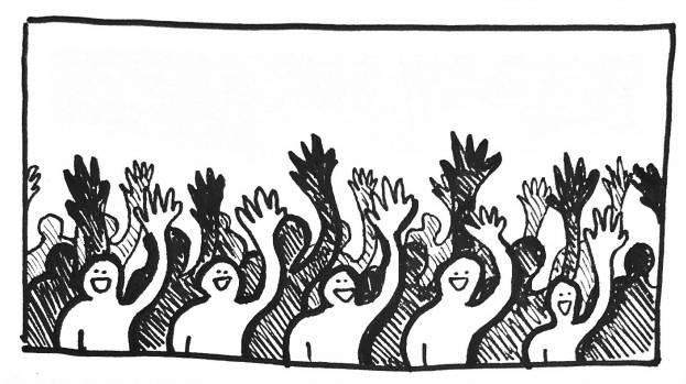 Lever les mains