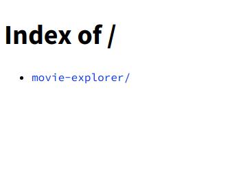 Root folder